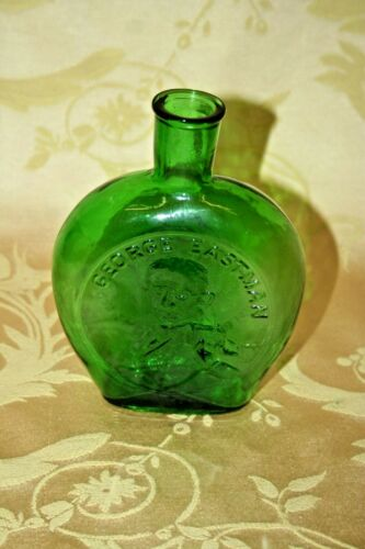 Vintage Clevenger Glass Museum Editions Glass Decanter Bottle - George Eastman