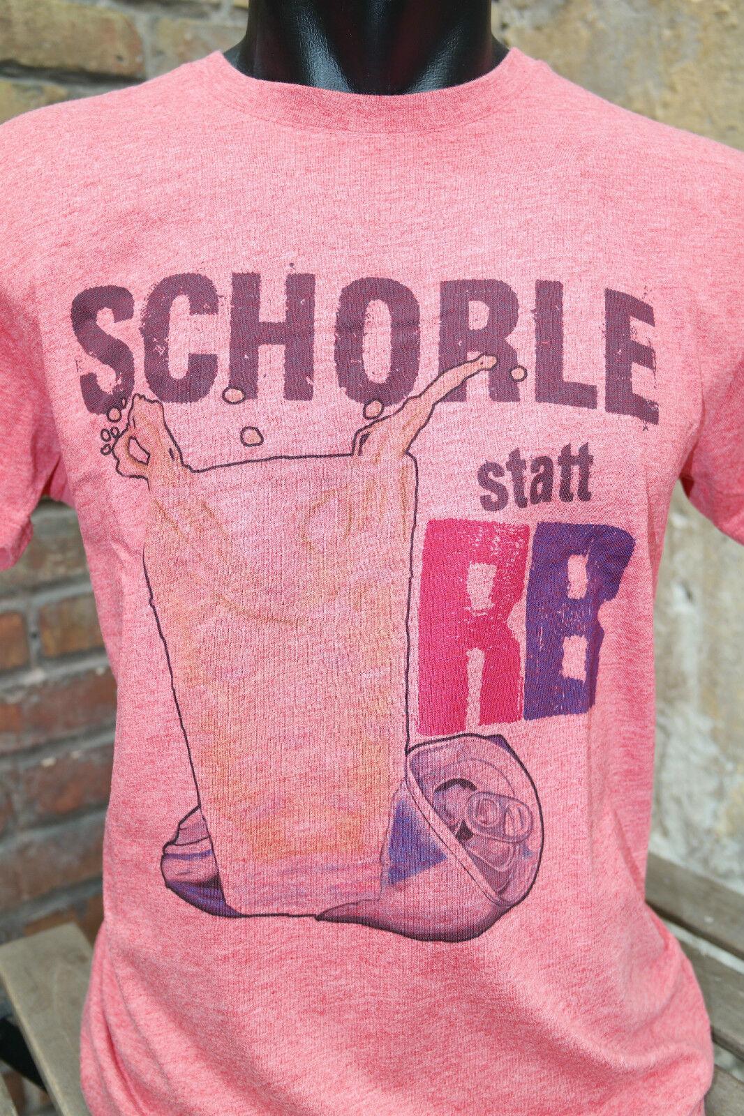 Schorle Statt Rb Fun Fan Shirt Fußball Bundesliga Fck