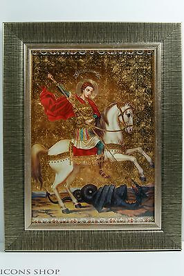St. Georgiy Russian Christianity Orthodox Icon Святой Георгий Икона