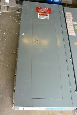 Square D Qob 42 Circuit 208y120v 3 Phase 225 Amp Main Breaker Panel Indoor Used