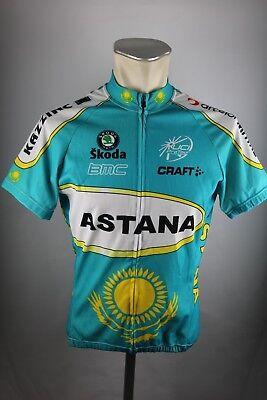7e99d976a Craft Astana UCI Tour Radtrikot Gr. M 52cm Bike cycling jersey Shirt F7