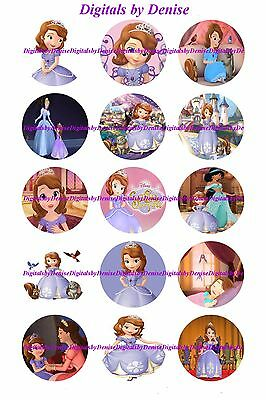 Sofia The First Cupcake Toppers (SOFIA THE FIRST 2