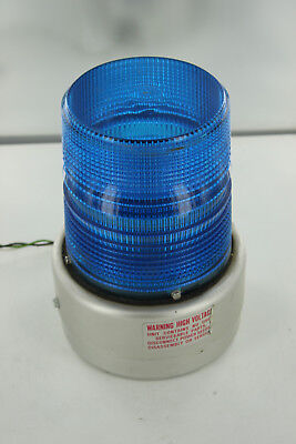 Federal Signal Lukens 6850 Blue Warning Beacon Strobe