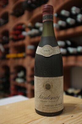 Santenay 1969 Georges Vasseur Rotwein 1 Flasche original