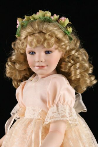 """Collection of the Masters 17"""" Porcelain & Cloth Doll ASHLEY"""