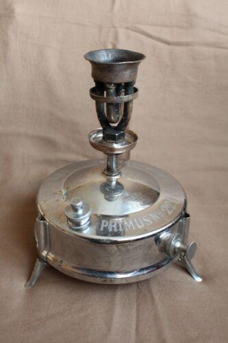 RARE Vintage Kerosene PRIMUS nr. 221  Made in Sweden (NOT Hasaz Radius Ditmar )