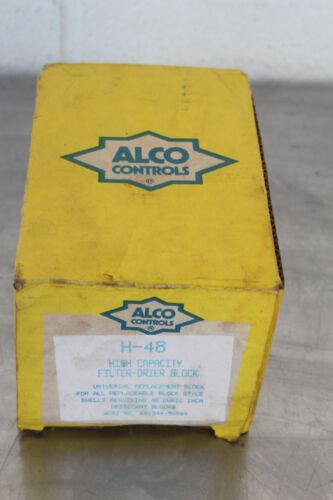 ALCO CONTROLS RH-48 HIGH CAPACITY FILTER DRIER BLOCK NEW