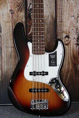 Fender Player Jazz Bass, Pau Ferro Fingerboard - 3-Tone Sunburst!