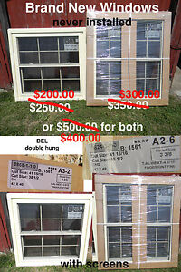 2 New Windows (each or together)