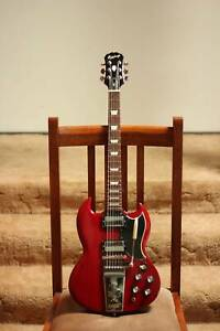 2005 Epiphone SG (1965 Reissue) with hard case