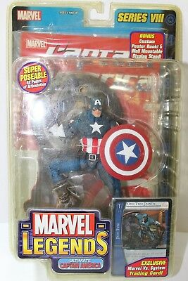 Ultimate Captain America (Marvel Legends The Ultimate Captain America Series VIII 6 in.)