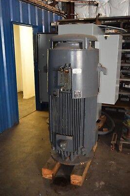 U.s. Electric High Thrust 200 Hp Electric Motor 460v 219 Amps 60 Hz 3575 Rpm