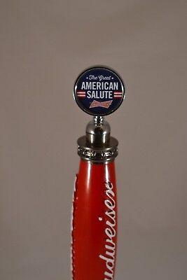 Budweiser American Salute Tap Topper BNIB! FREE SHIPPING!!