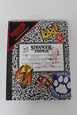 Stranger Things Composition Notebook - Brand New