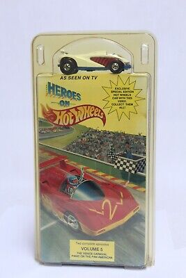 HOT WHEELS HEROES ON HOT WHEELS VHS NEW IN PACKAGE W/ WHITE SPEED SHARK