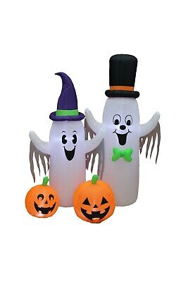 Halloween LED Air Blown Inflatable Party Blowup Decoration Spooky Ghost Pumpkin