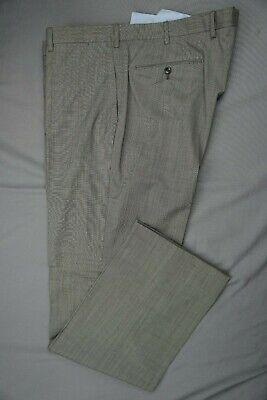 Incotex Slowear Super 130s Flat Front Wool Dress Pants, Slacks. Actual 42X34.5.