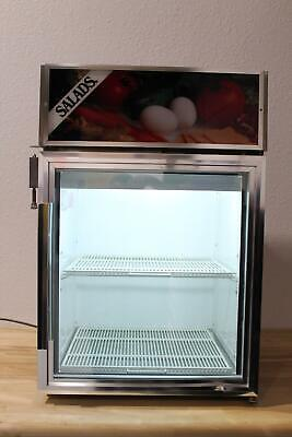 True Gdm-5 24 Glass Door Cooler Merchandiser Refrigerator Fully Tested