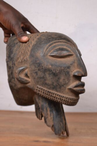African Tribal Art very good hemba head from Hemba tribal