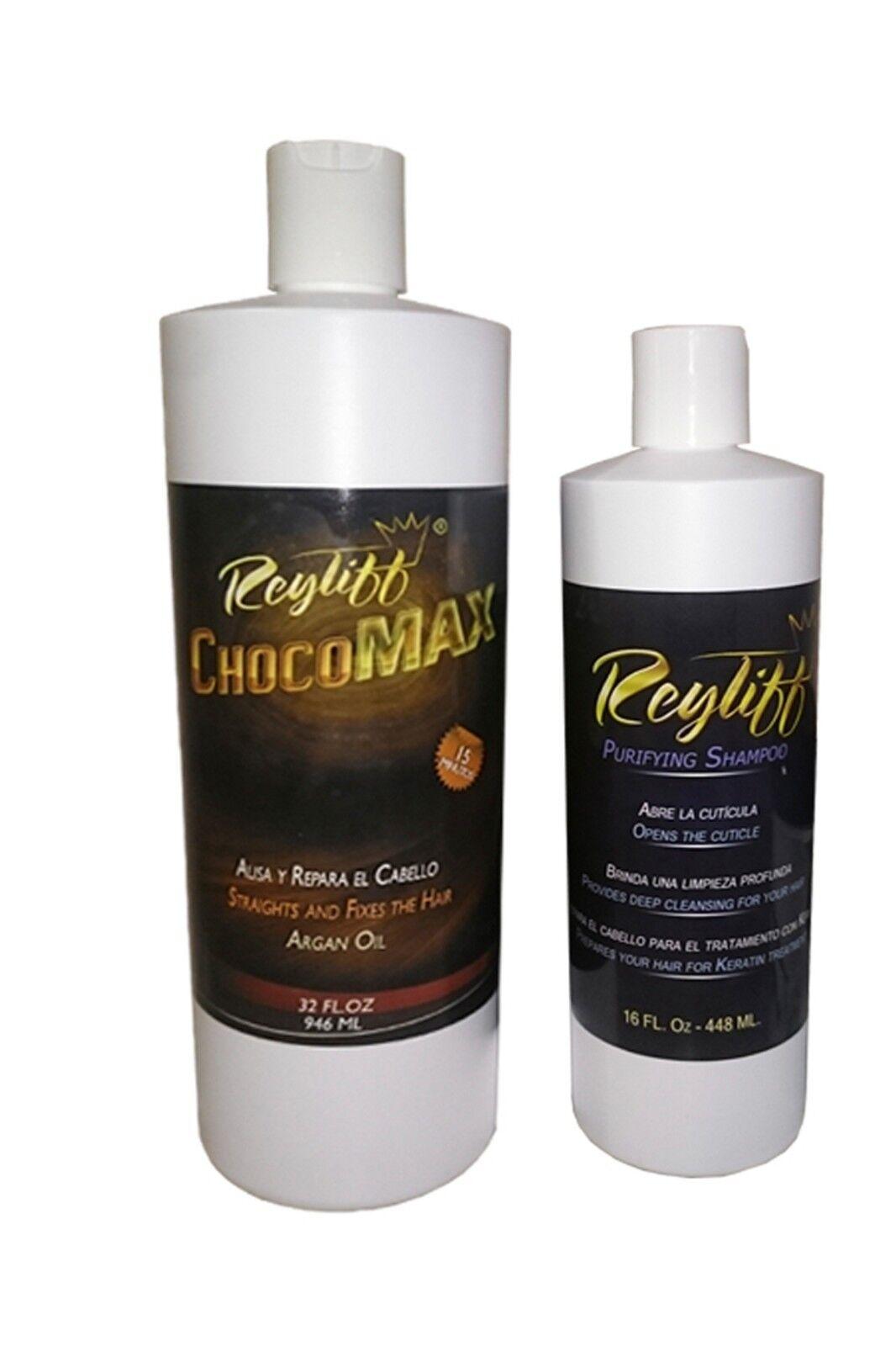 Keratin  chocomax 32 oz +16 oz purifying champoo