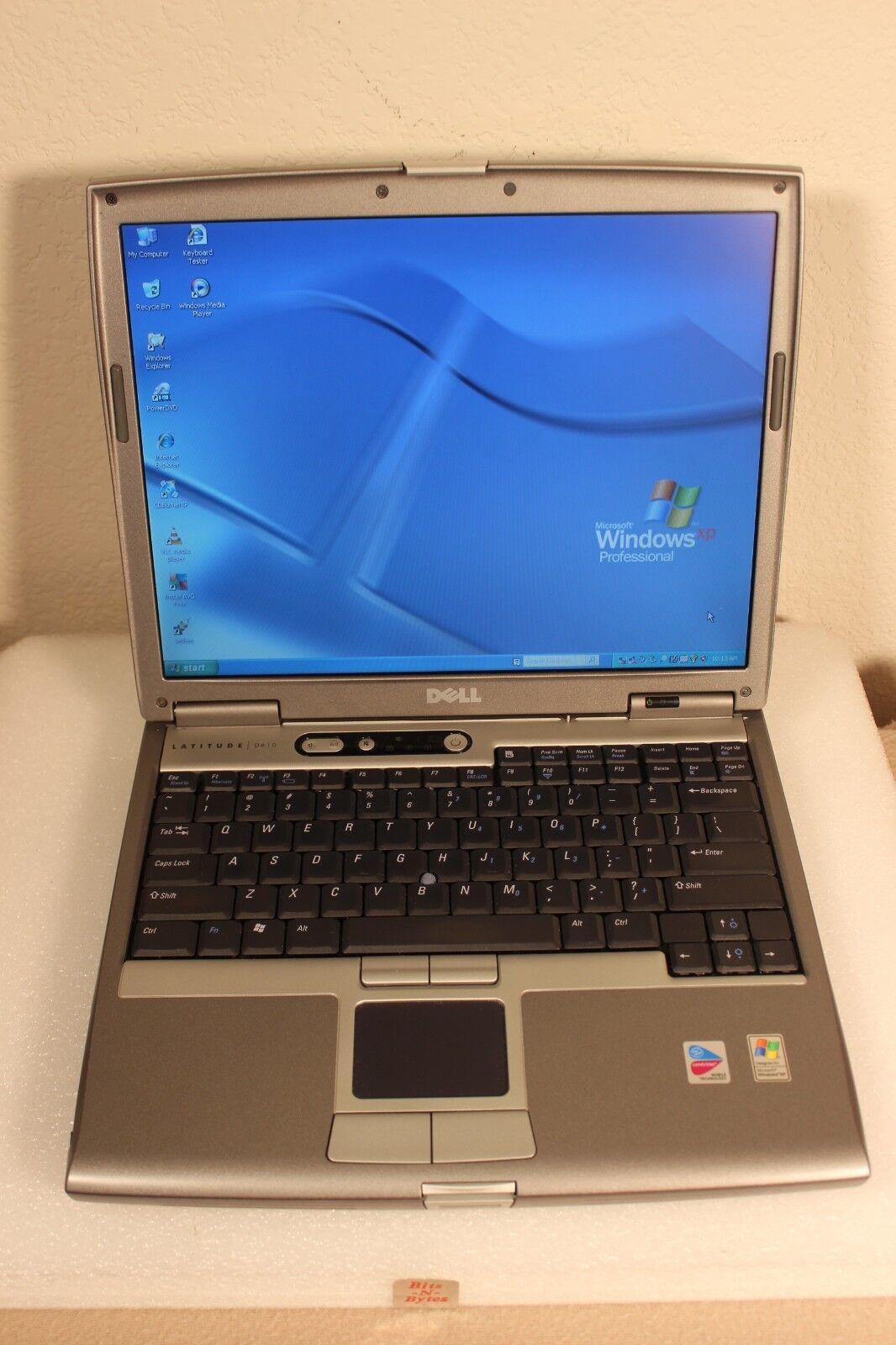 Dell Latitude D610 Notebook (1.73GHz/1.0GB/40GB/CDRW-DVD) Windows XP PRO