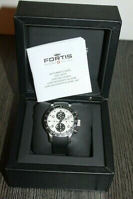 FORTIS B-42 Stratoliner Chronograph VALJOUX 7750 Auto 43mm 665.10.141 Watch!