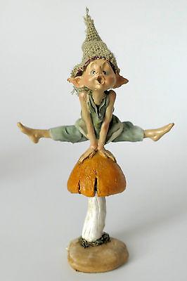 pixie,kobold,wicht,11,5x8cm,die feenhaften,wichtel,waldgeister,feen,pilz,frech gebraucht kaufen  Heideblick