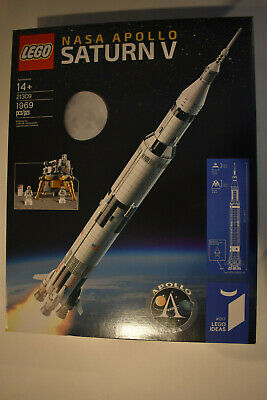 LEGO Ideas Set #21309 NASA Apollo Saturn V - NEW Sealed