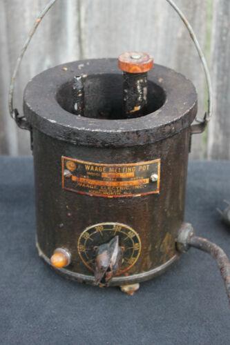 WAAGE Melting Pot WP1A 115 VOLTS 300 WATTS