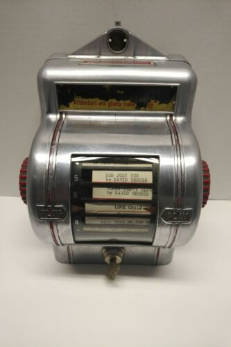 VINTAGE PACKARD JUKEBOX WALL BOX COIN OPERATED Restaurant Table Booth 1950s Dime