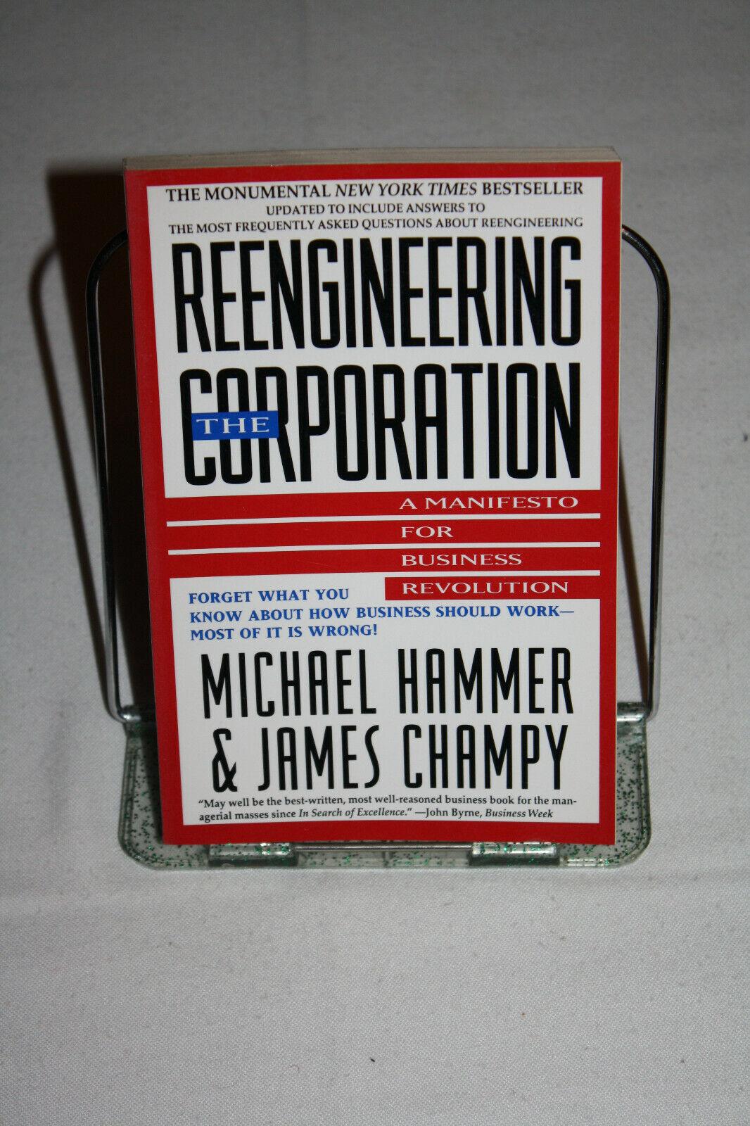 The Reengineering Corporation (M. Hammer/ J. Champy), Taschhenbuch, Englisch