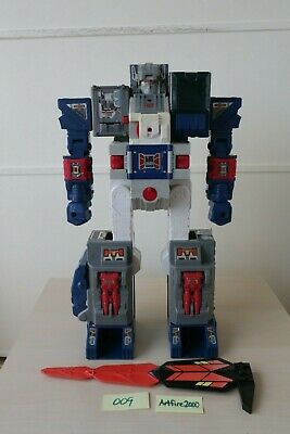G1 FORTRESS MAXIMUS Transformers 1987 leg double lasers ONE 1 VINTAGE gun piece