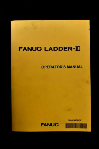 Fanuc Ladder III Operators Manual B-66234EN/08