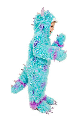 Cousin to Sulley Monsters INC Monster Sullivan Costume Child Kids 7 8 9 10 M L - Kids Monsters Inc Costume