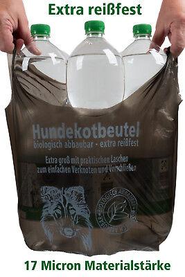 Reiz Bar (200 Hundekotbeutel biologisch abbaubar praktische Henkel reissfest nassfest NEU!)