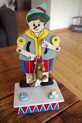 ENESCO Spieluhr aus Sammlung  Marionette Pinocchio 2