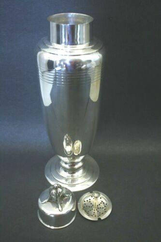 Vintage Sterling Silver Modern Art Deco Style Cocktail Shaker 23.270 OZ.