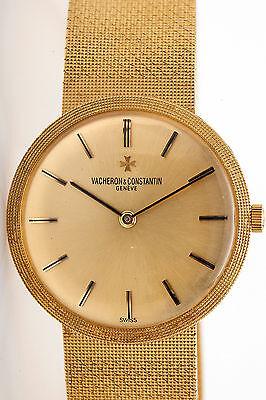 Vintage $15,000 Vacheron & Constantin 18k Yellow Gold 34mm Mens Dress Watch 90g
