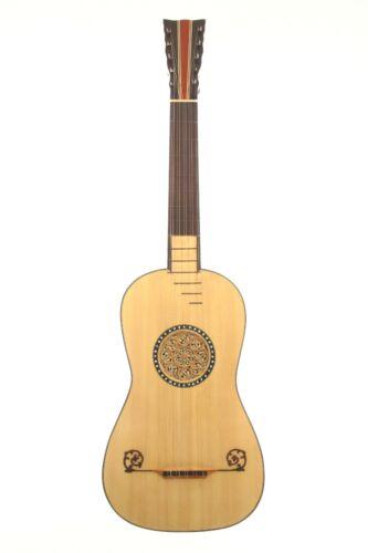 Jose (Josef) Pages ~1790 baroque guitar - excellent handmade replica