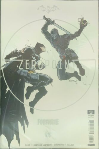 BATMAN FORTNITE ZERO POINT 3 PREMIUM VARIANT C SNAKE-EYES G.I. JOE SEALED CODE