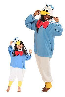 SAZAC Donald Duck Kigurumi - Kids & Adults Costumes from USA