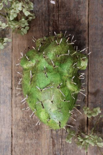 Cactus Heart Prickly Handmade by Rafael Pineda Mexico Folk Art South West Style