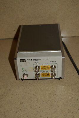 Hewlett Packard Hp 8447f Amplifier 0.1-1300 Mhz