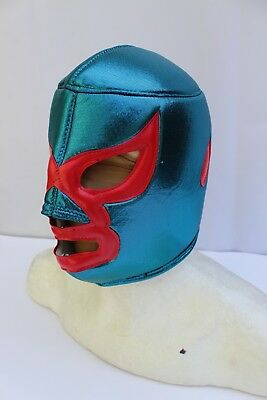 41.-ADULT NACHO LIBRE Foamy Wrestling Mask Adulto Size Wrestler Costume Lucha, used for sale  Mexico