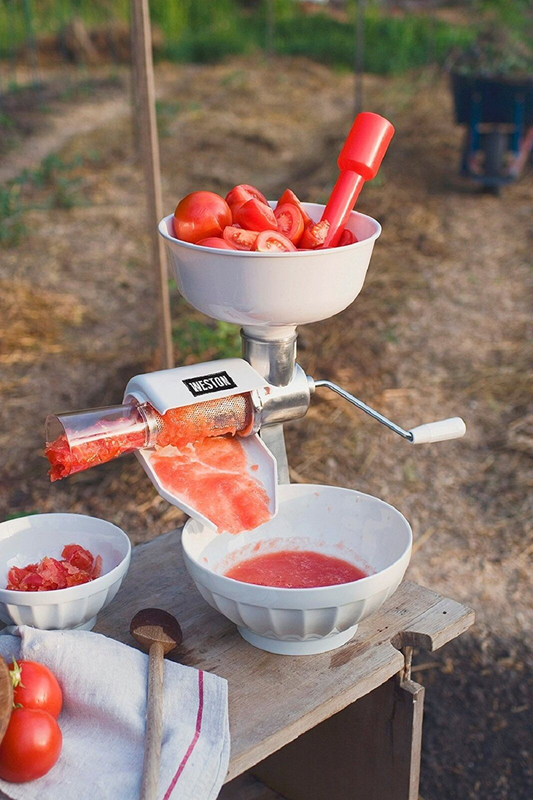 Tomato Sauce Maker Food Strainer Electric Motor Apple Puree