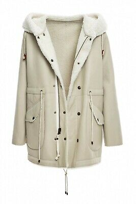Mr & Mrs Italy Reversible Shearling Parka XS