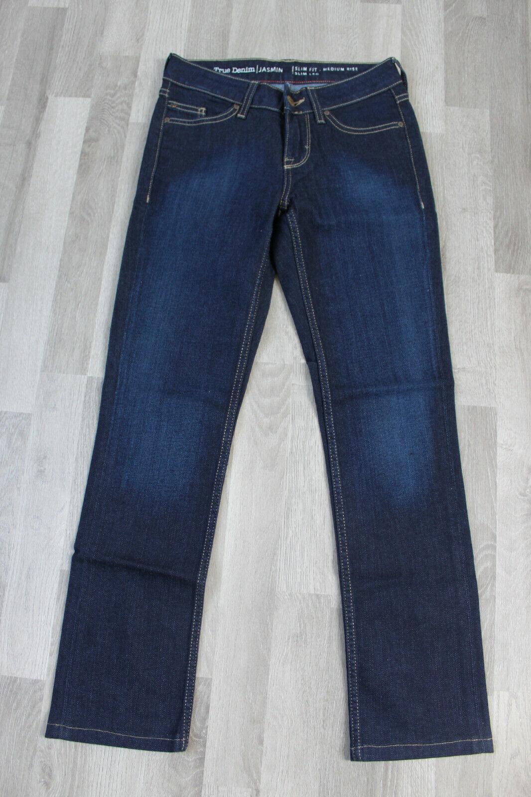 Mustang Hose Damenhose Jeanshose Jeans Jasmin slim fit, medium rise, dunkelblau,