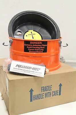 Pullman-holt Drywet Hepa Asbestos Pick-up Vacuum Adapter Extension Tank