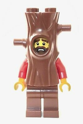 Lego 60174 Tree Trunk Suit Costume Guy - City Crook Minifigure - Brand New