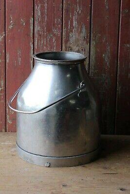 Vintage Stainless Steel Milk Churn Garden Planter